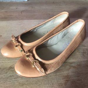 AGL Tan Ballet Flats